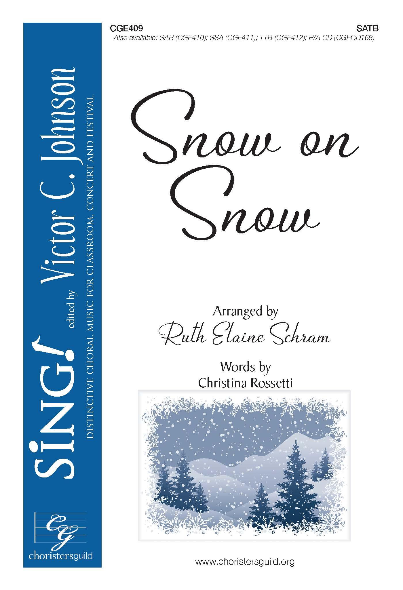Snow on Snow - SATB