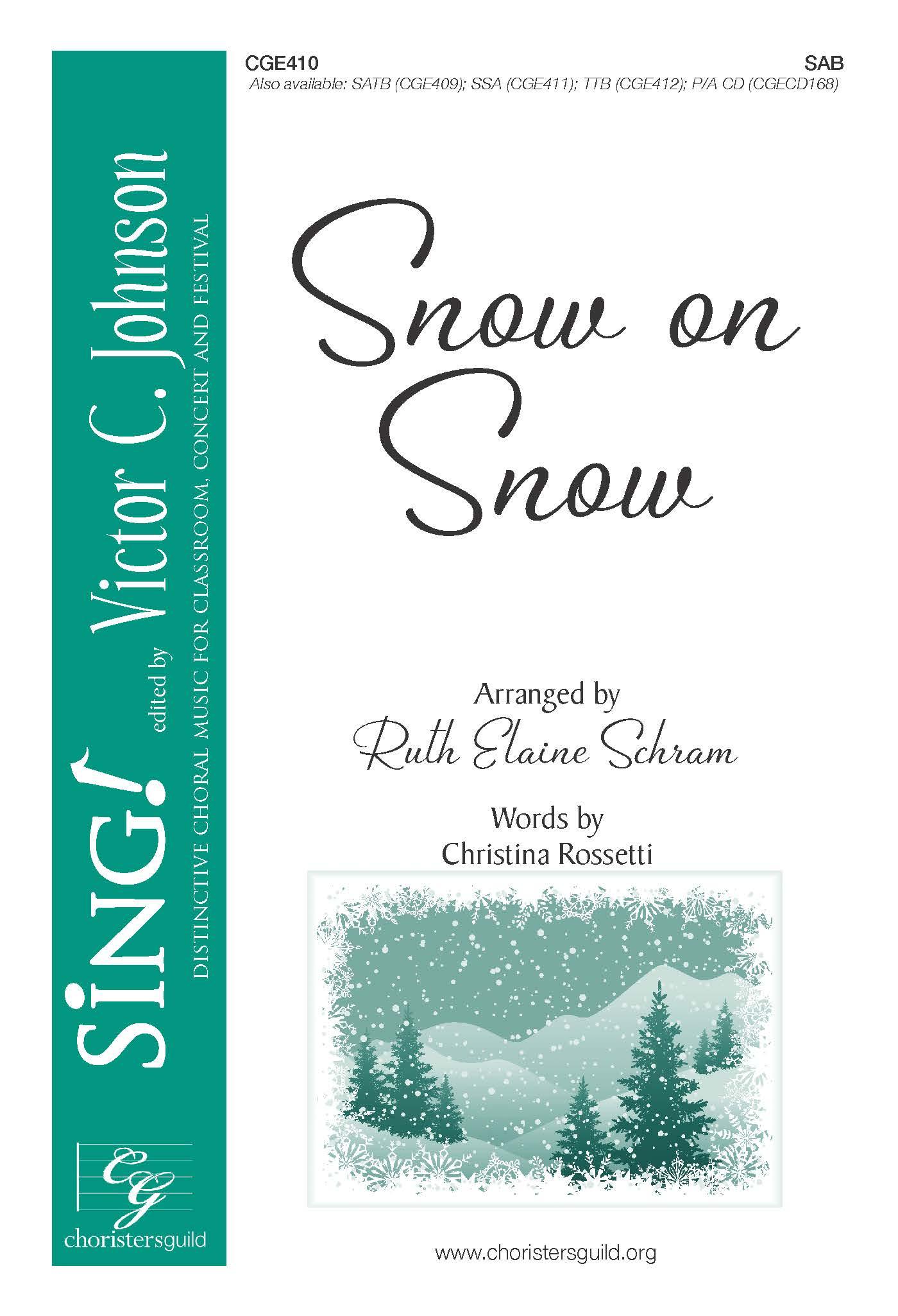 Snow on Snow - SAB