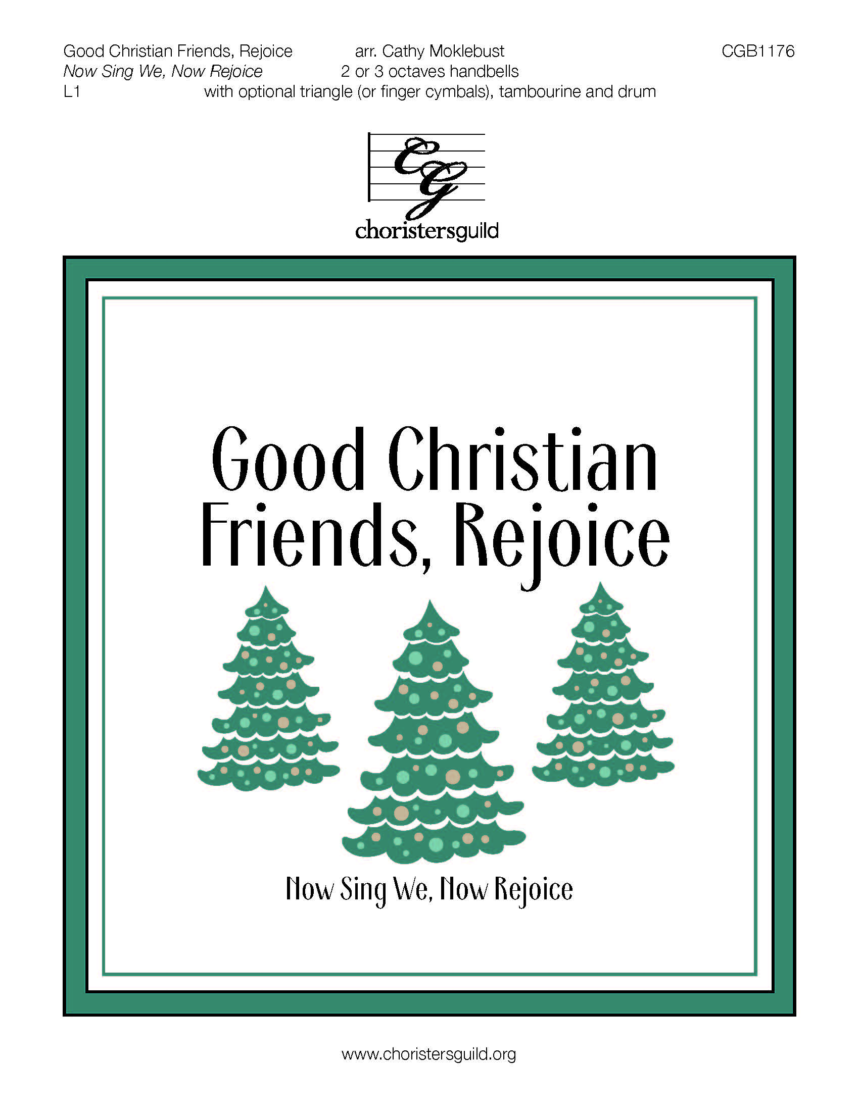 Good Christian Friends, Rejoice - 2-3 octaves