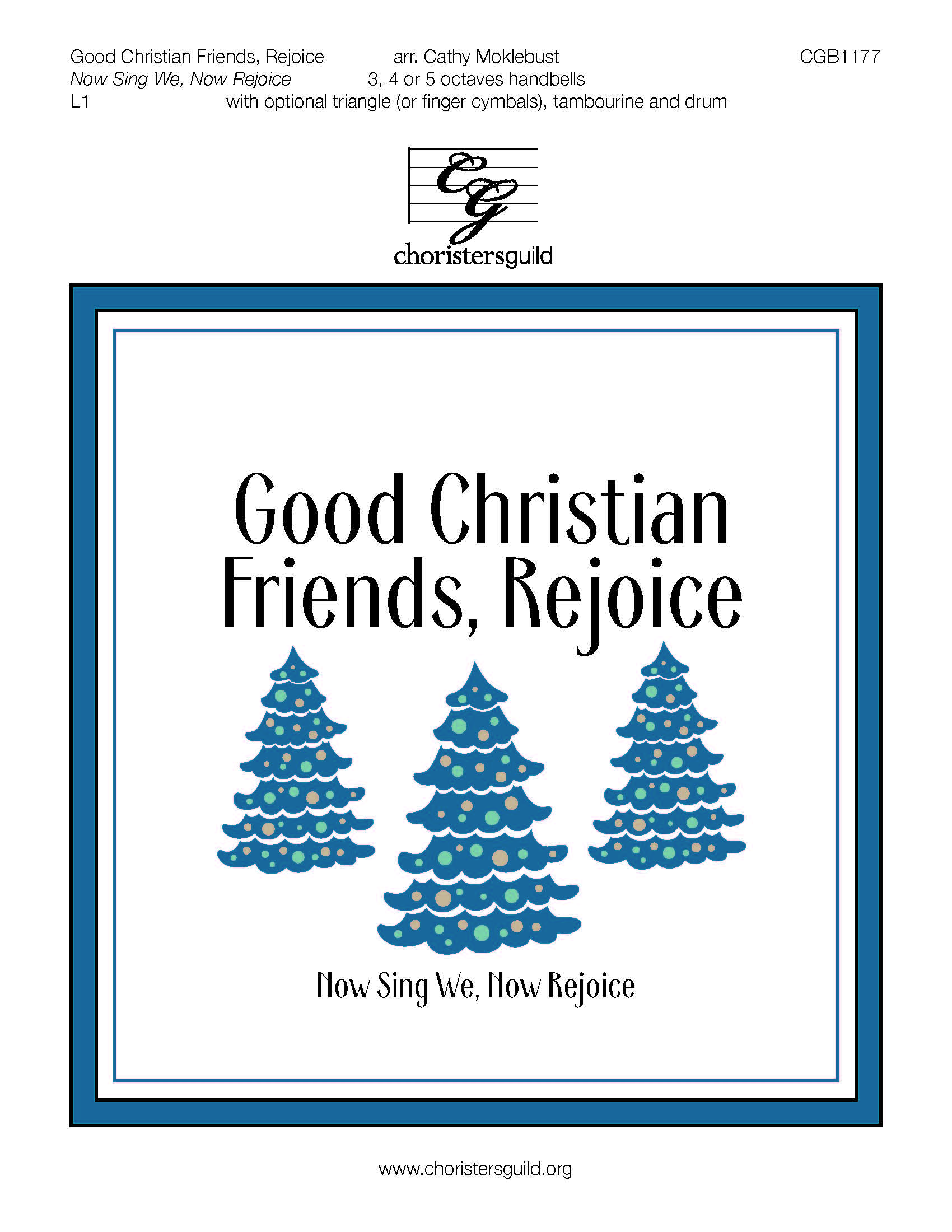 Good Christian Friends, Rejoice - 3-5 octaves
