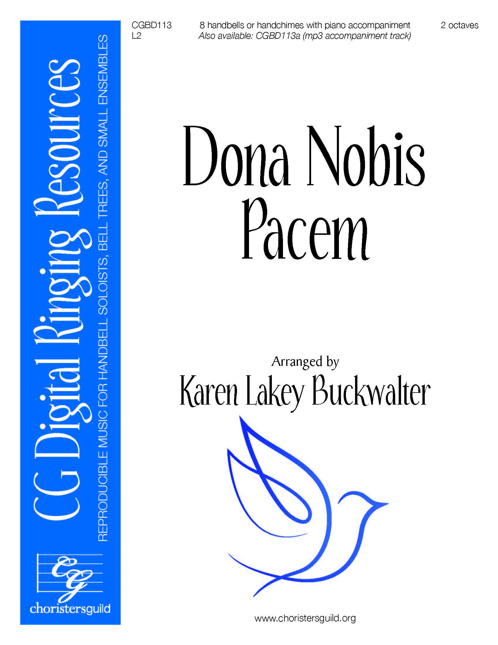 Dona Nobis Pacem - 8 bells (reproducible)