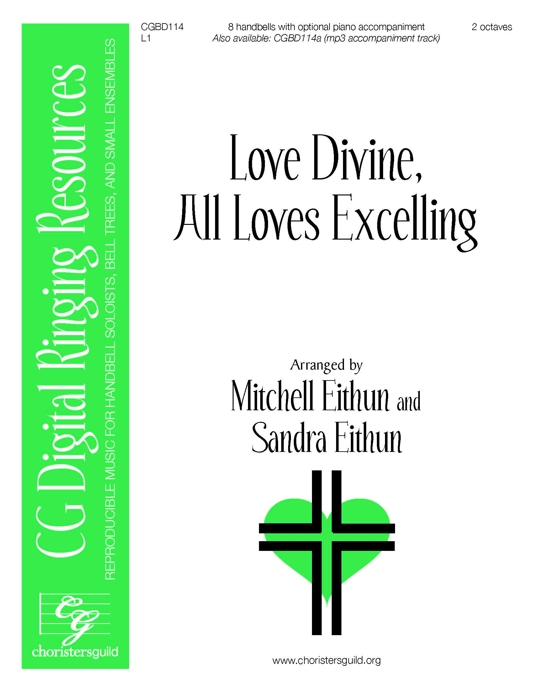 Love Divine, All Loves Excelling - 8 bells (reproducible)
