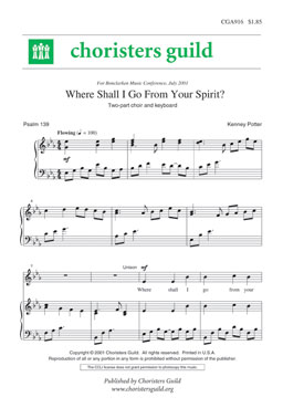 Where Shall I Go From Your Spirit