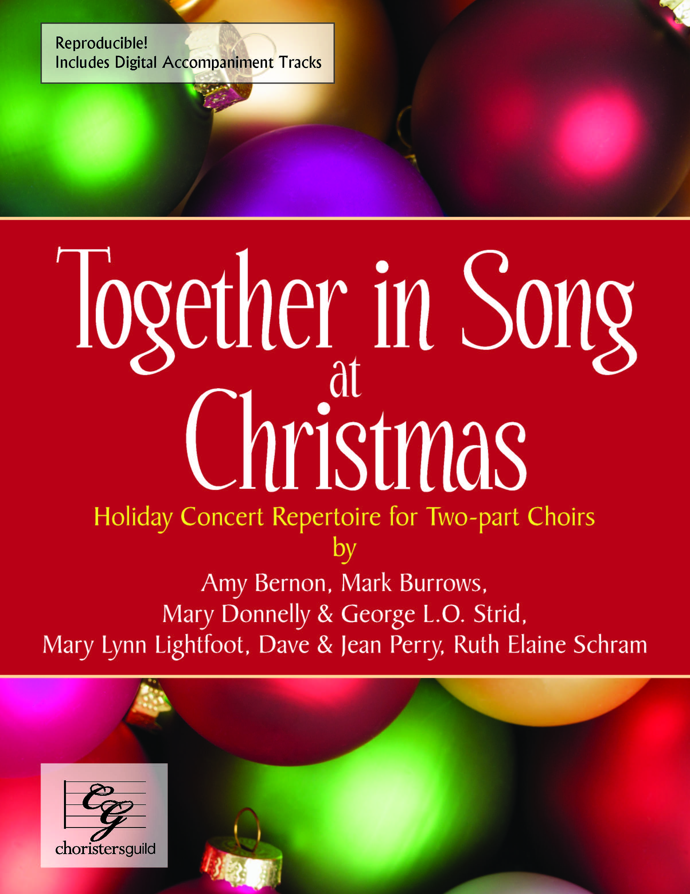 Together In Song at Christmas (Reproducible) - Two-part
