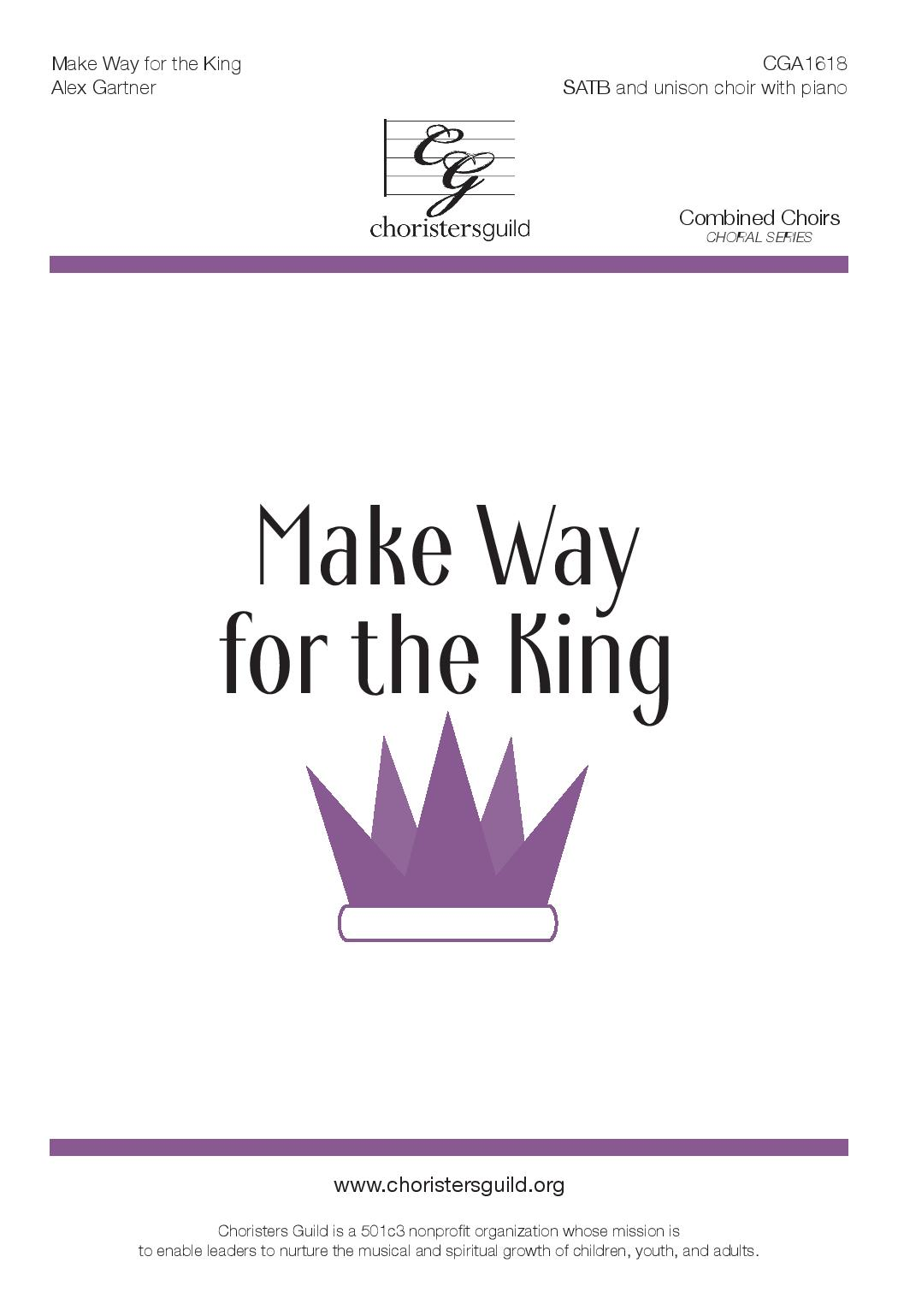 Make Way for the King (Digital Download Accompaniment Track)