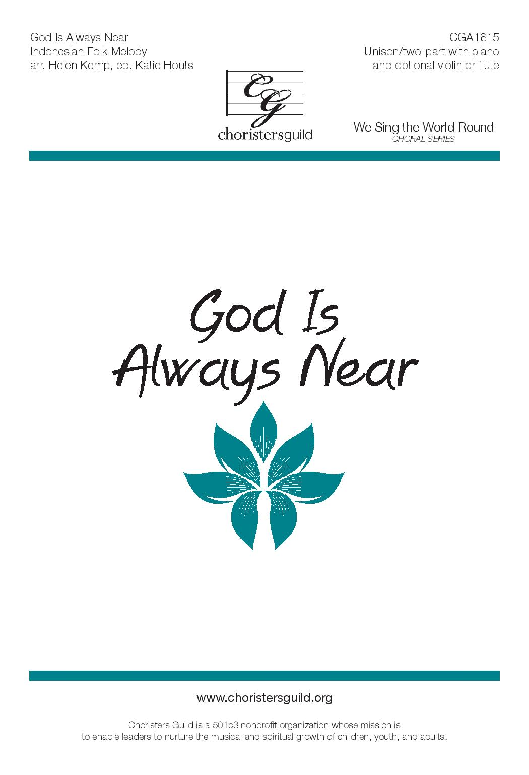God is Always Near (Digital Download Accompaniment Track)