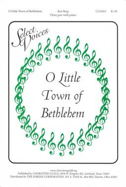 O Little Town of Bethlehem (Three-part)