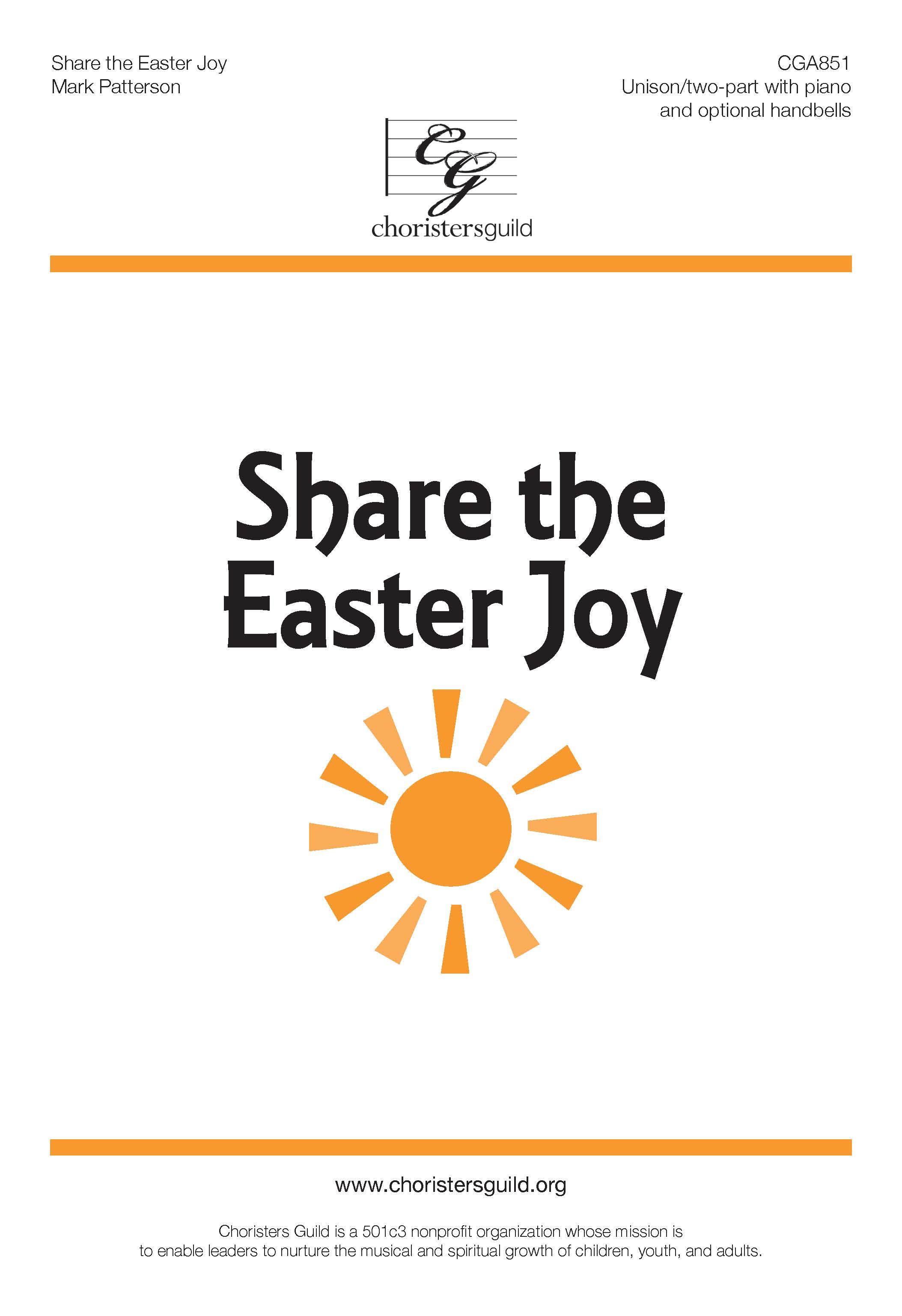 Share the Easter Joy (Digital Download Accompaniment Track)