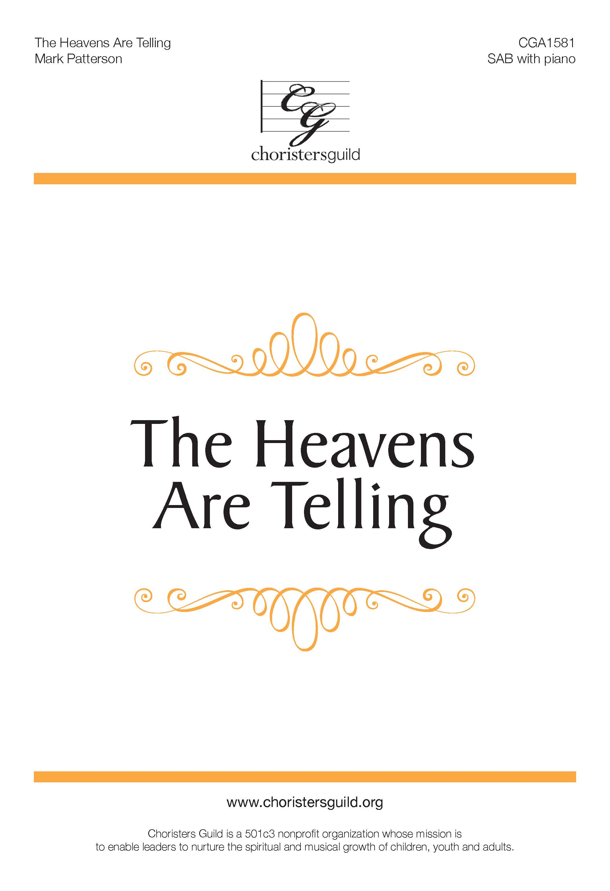 The Heavens Are Telling (Digital Download Accompaniment Track)