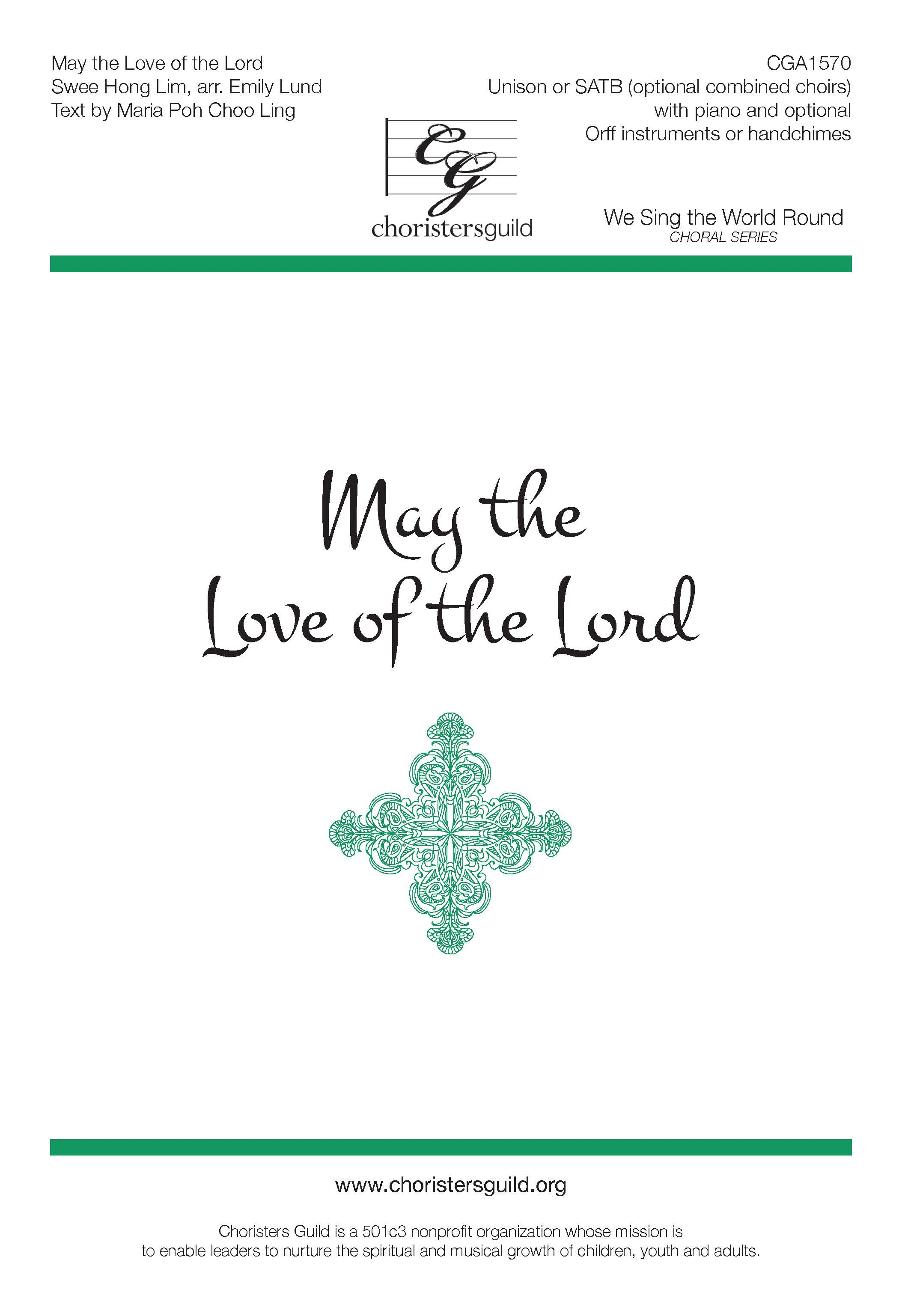 May the Love of the Lord (Digital Download Accompaniment Track)