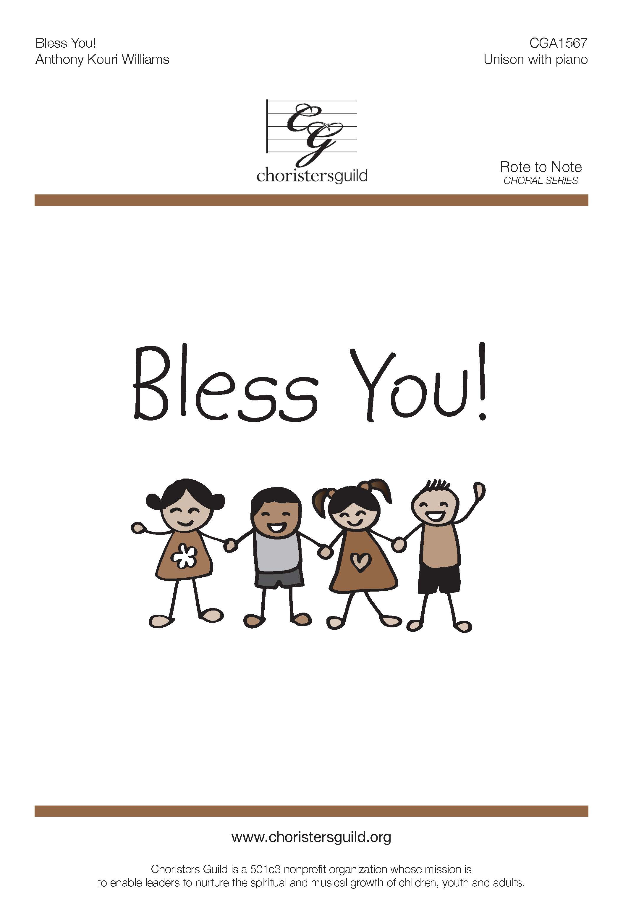 Bless You! (Digital Download Accompaniment Track)