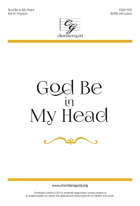 God Be in My Head (Digital Download Accompaniment Track)