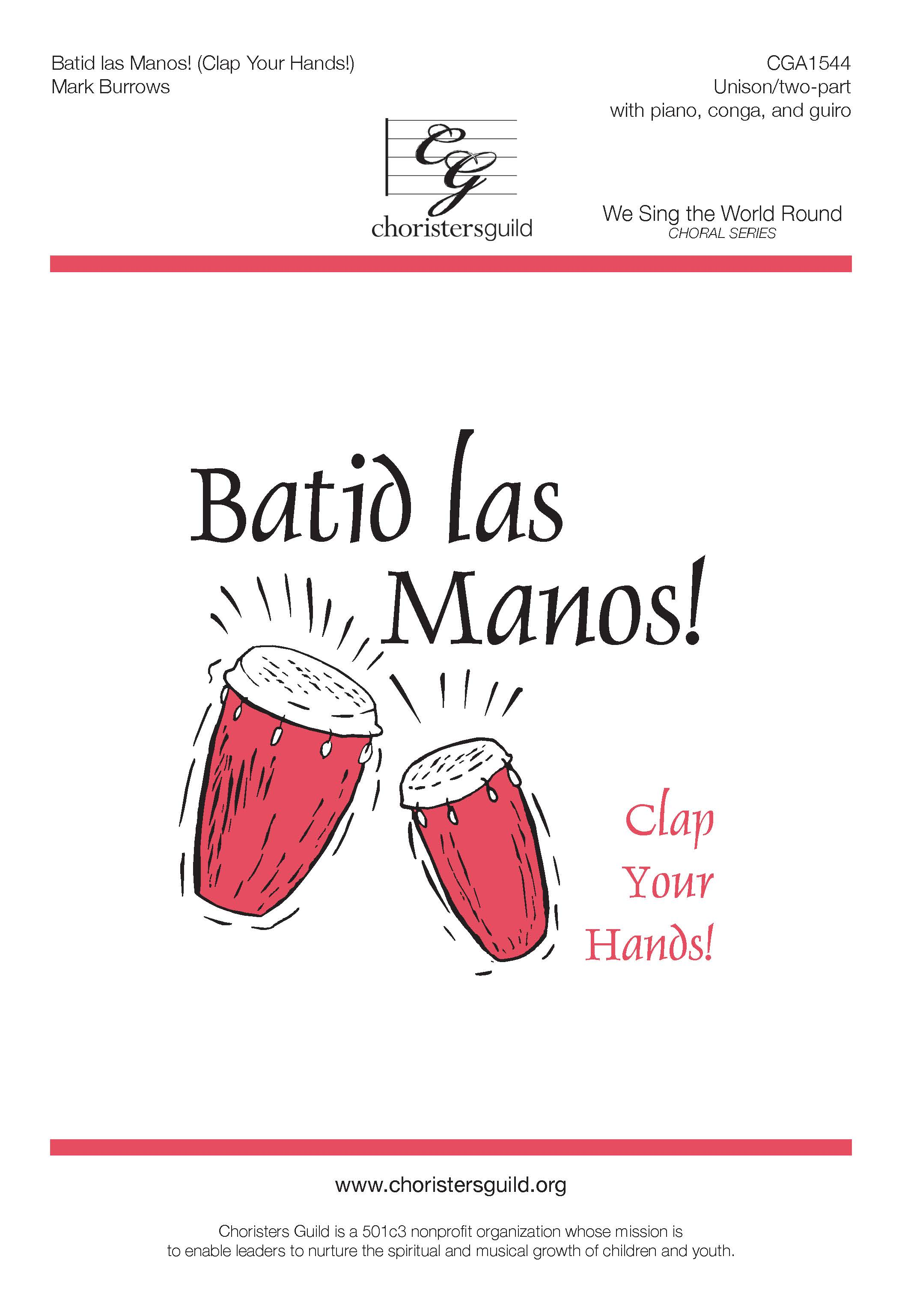 Batid las Manos! (Digital Download Accompaniment Track)