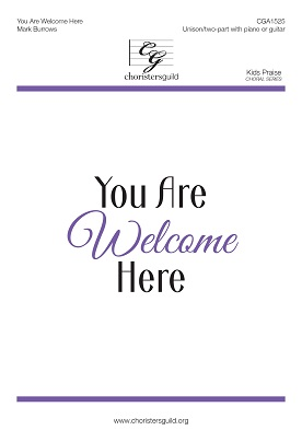 You Are Welcome Here (Digital Download Accompaniment Track)