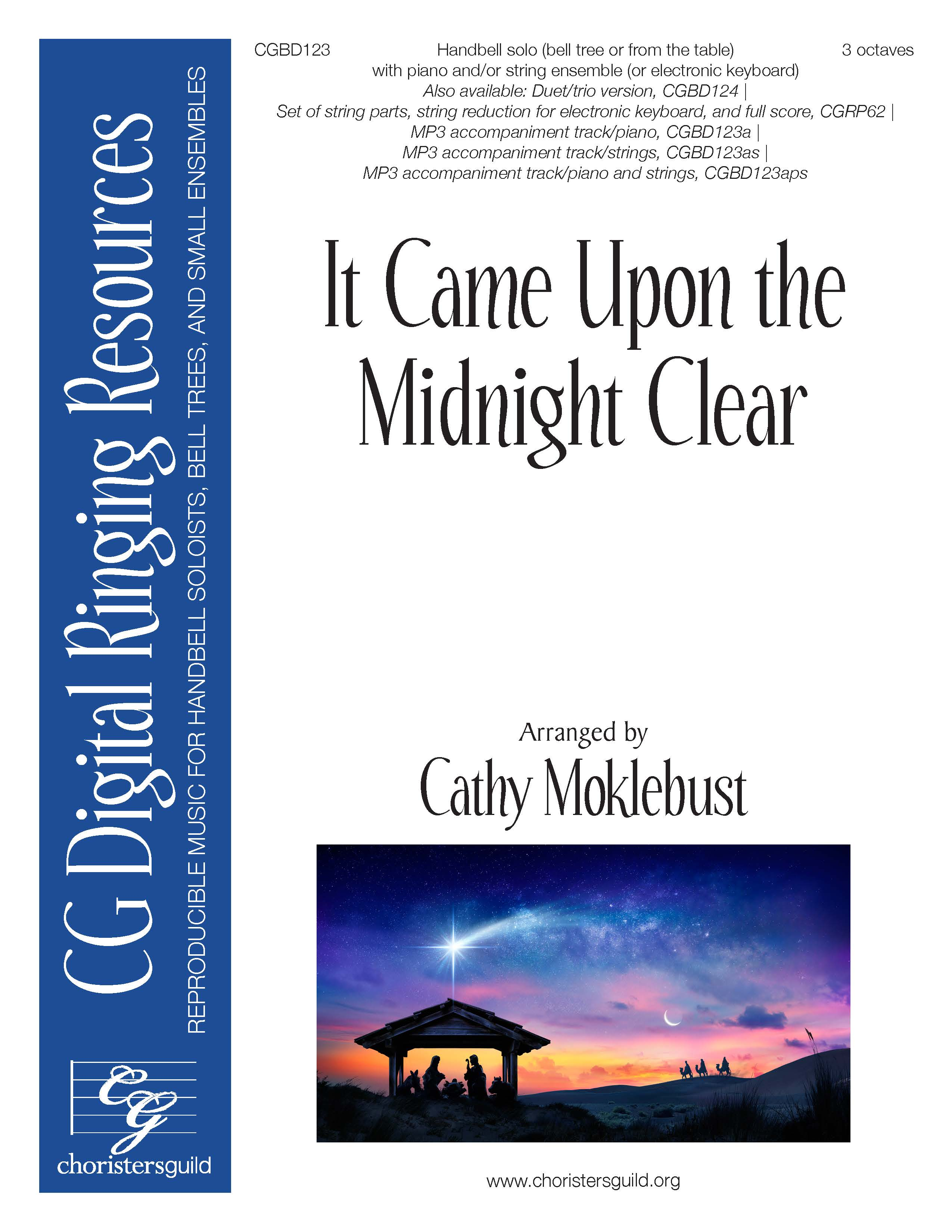 It Came Upon the Midnight Clear - Digital Accompaniment Track (piano)