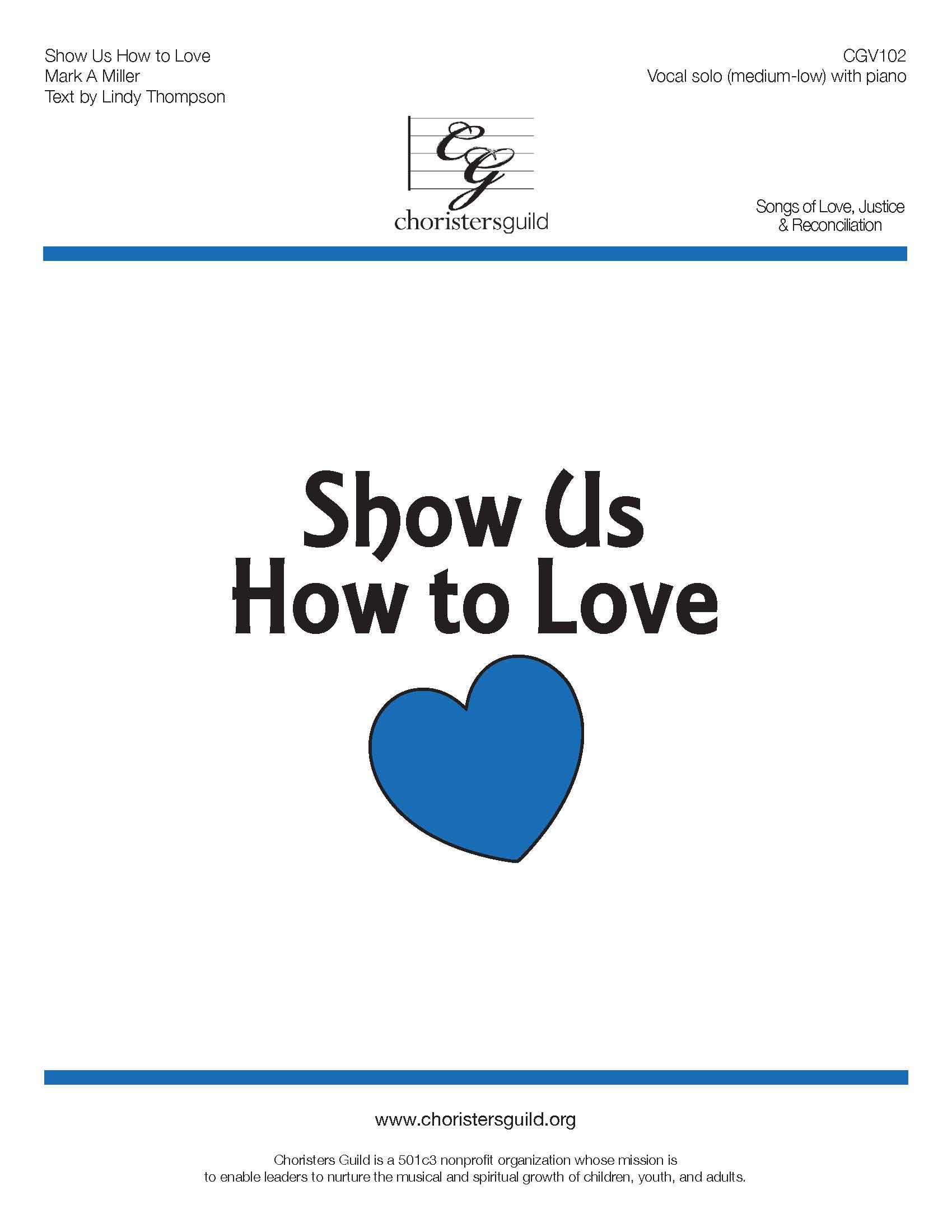 Show Us How to Love - Solo (Medium Low)