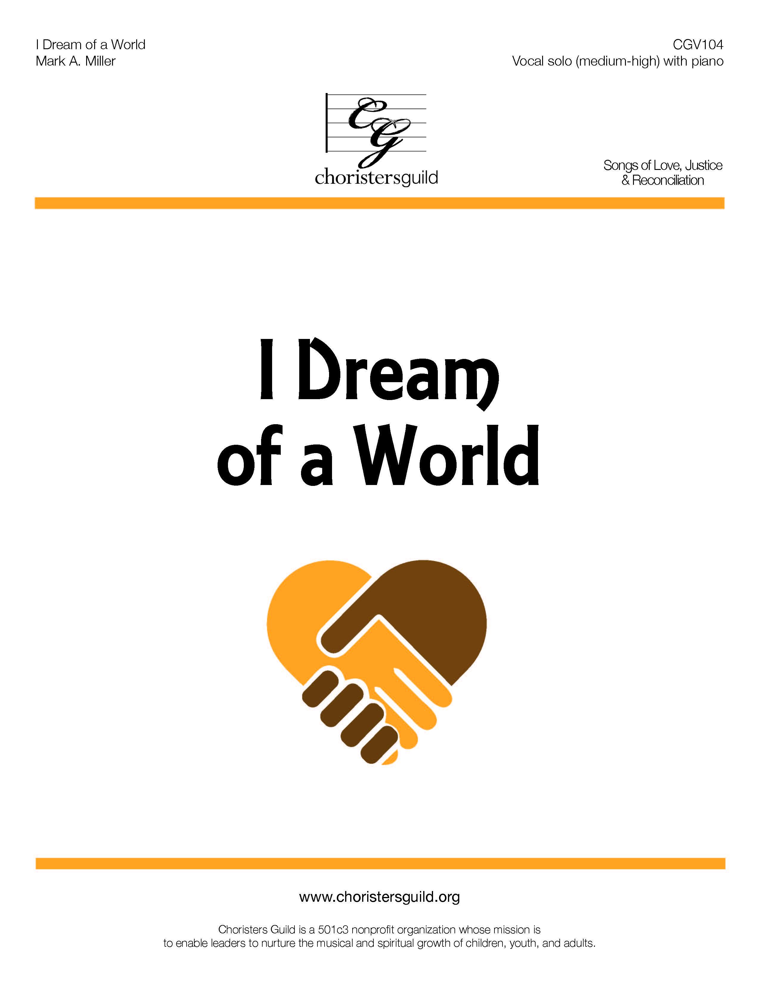 I Dream of a World - Solo (Medium High)