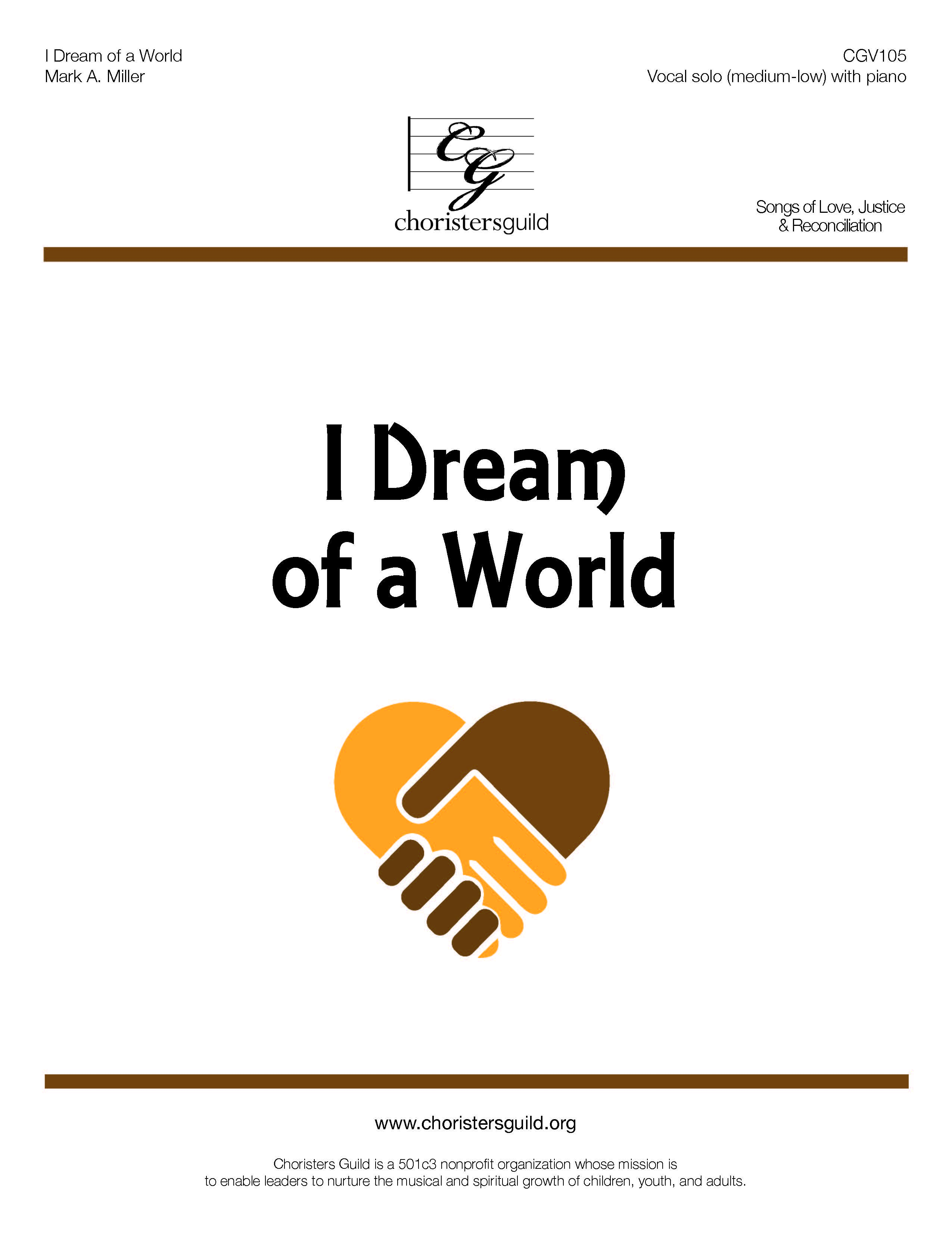 I Dream of a World - Solo (Medium Low)