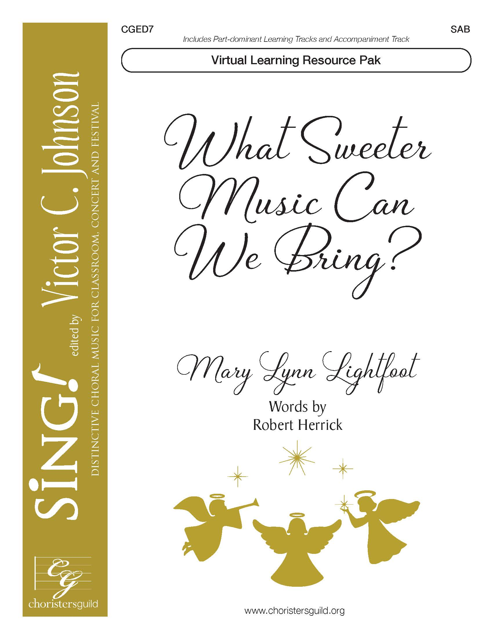 What Sweeter Music Can We Bring? (Virtual Learning Resource Pak) - SAB