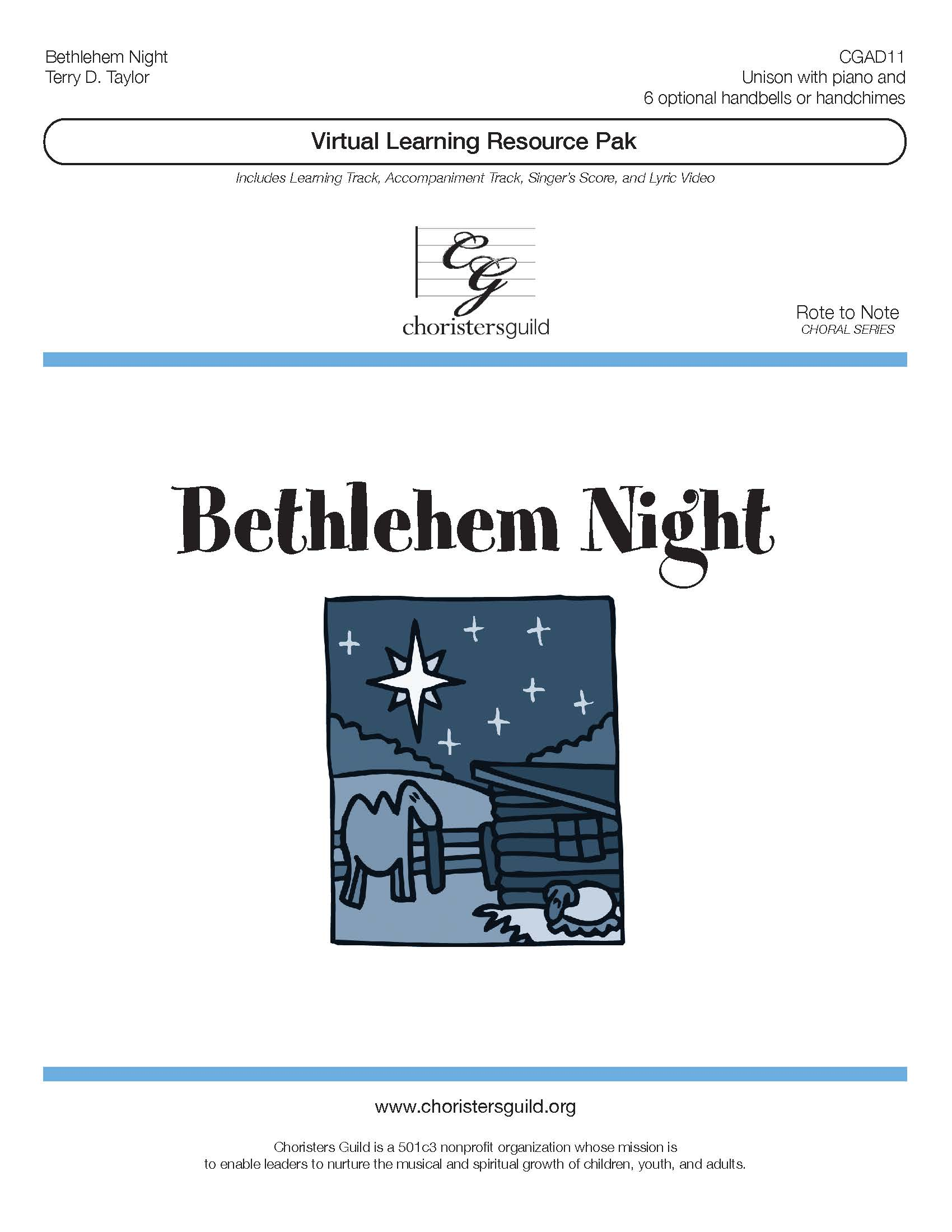Bethlehem Night (Virtual Learning Resource Pak) - Unison