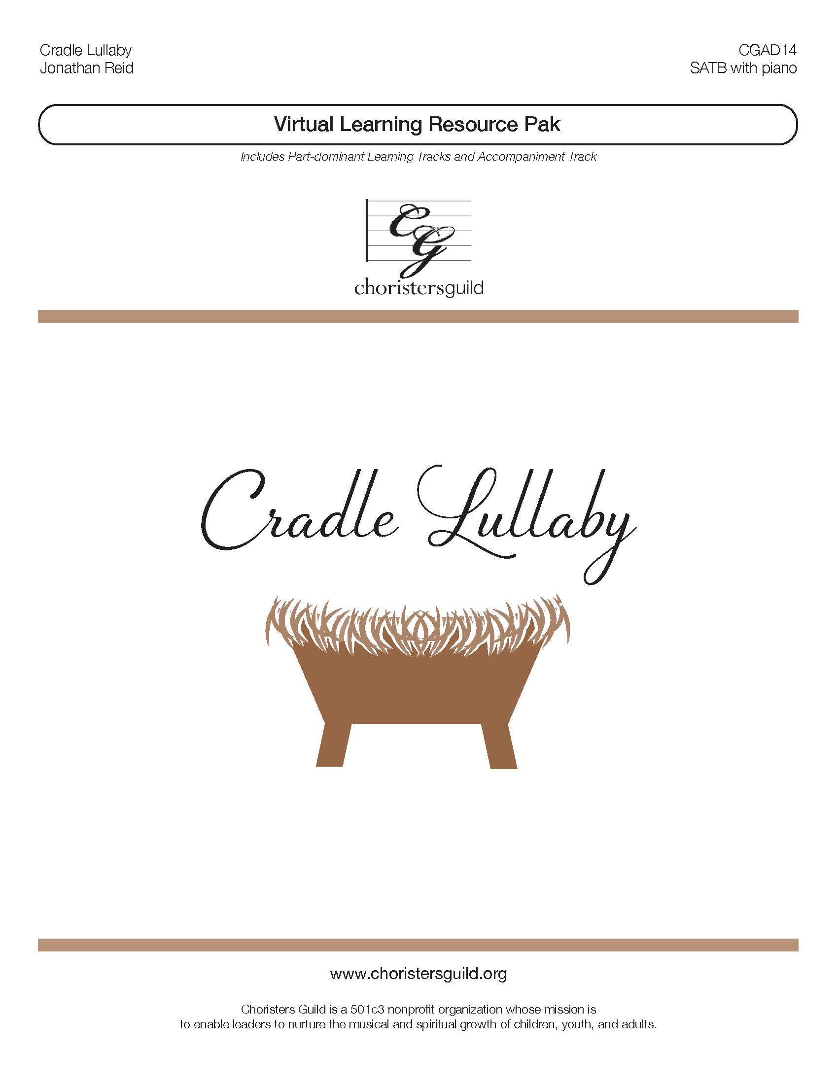 Cradle Lullaby (Virtual Learning Resource Pak) - SATB