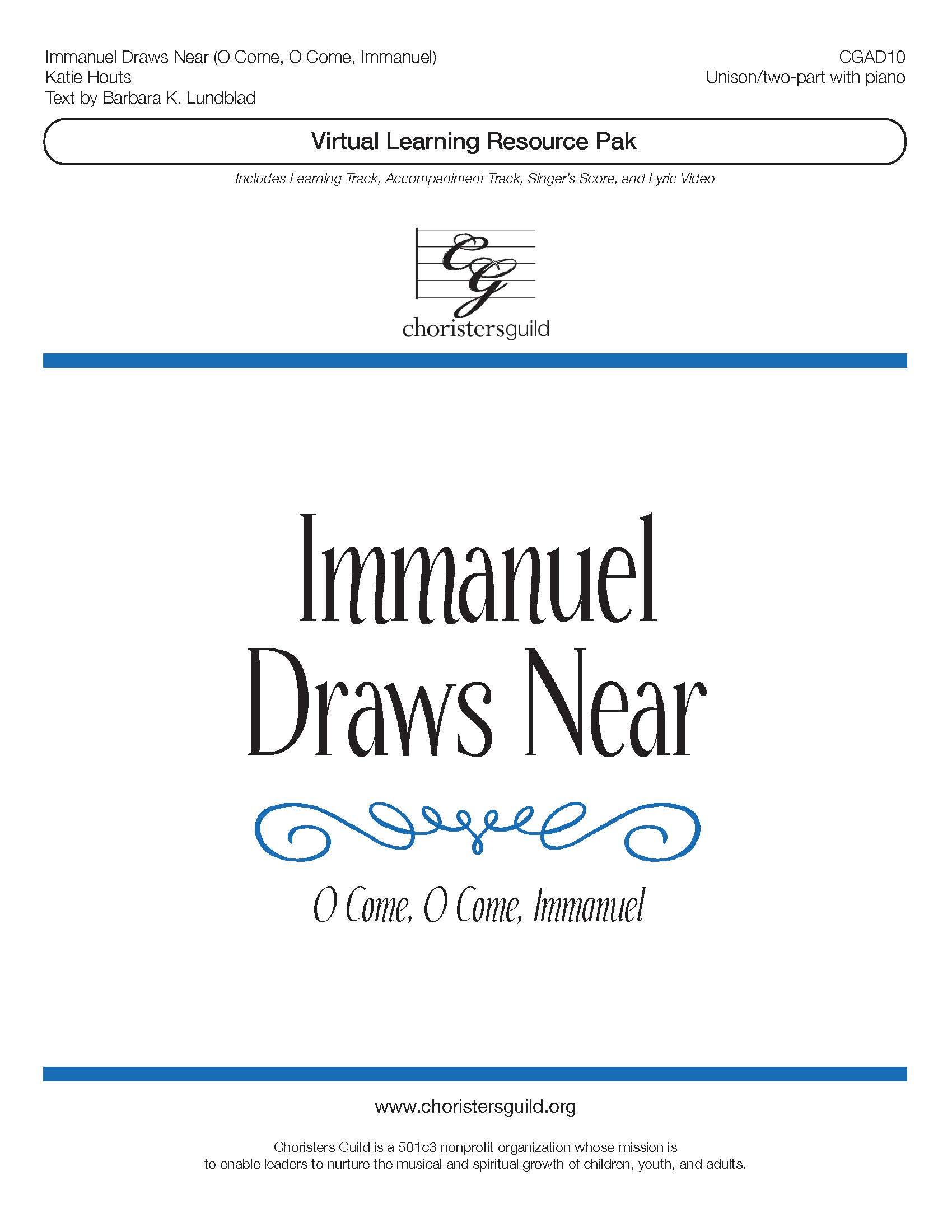 Immanuel Draws Near (Virtual Learning Resource Pak) - Unison
