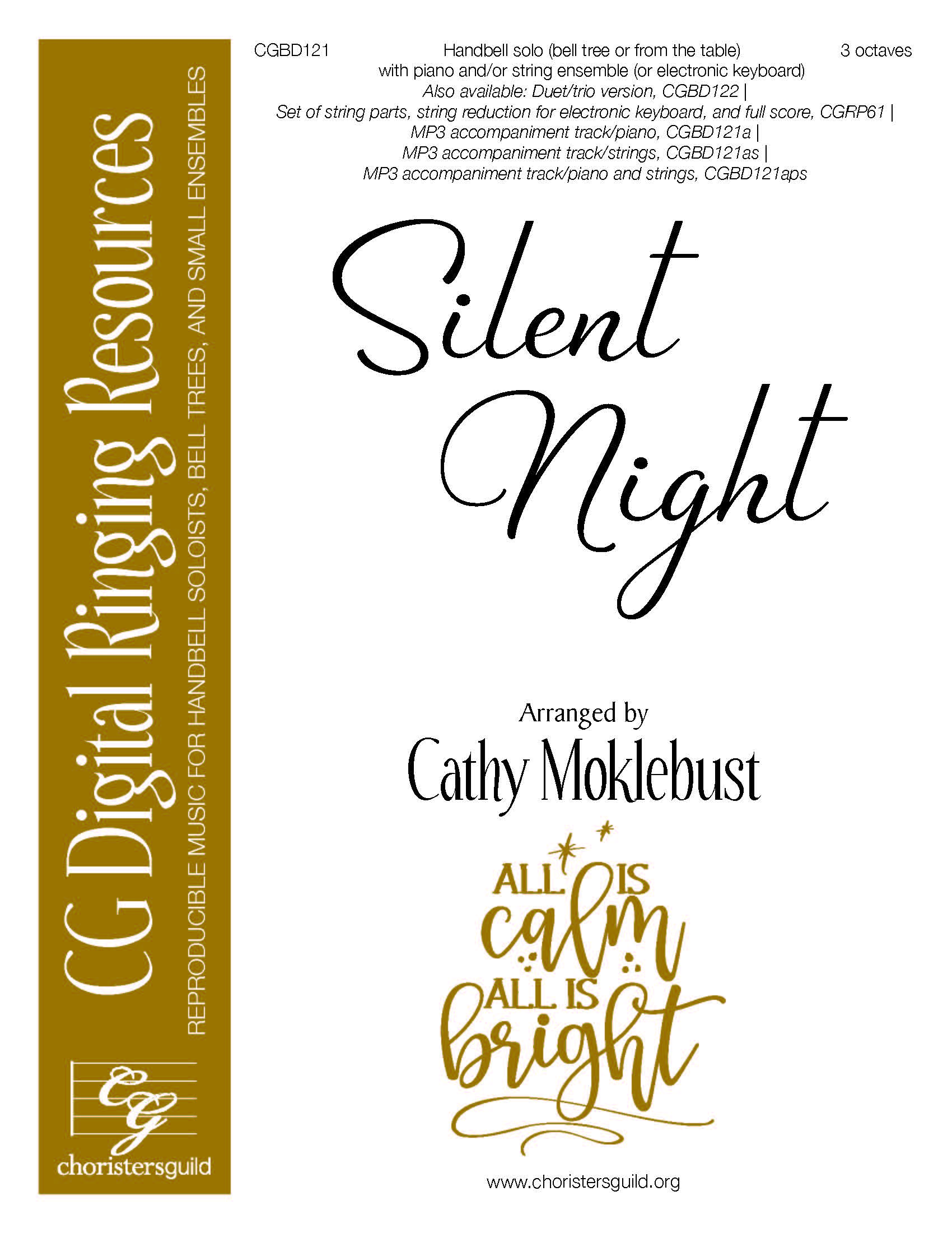 Silent Night - Digital Accompaniment Track (piano and strings)