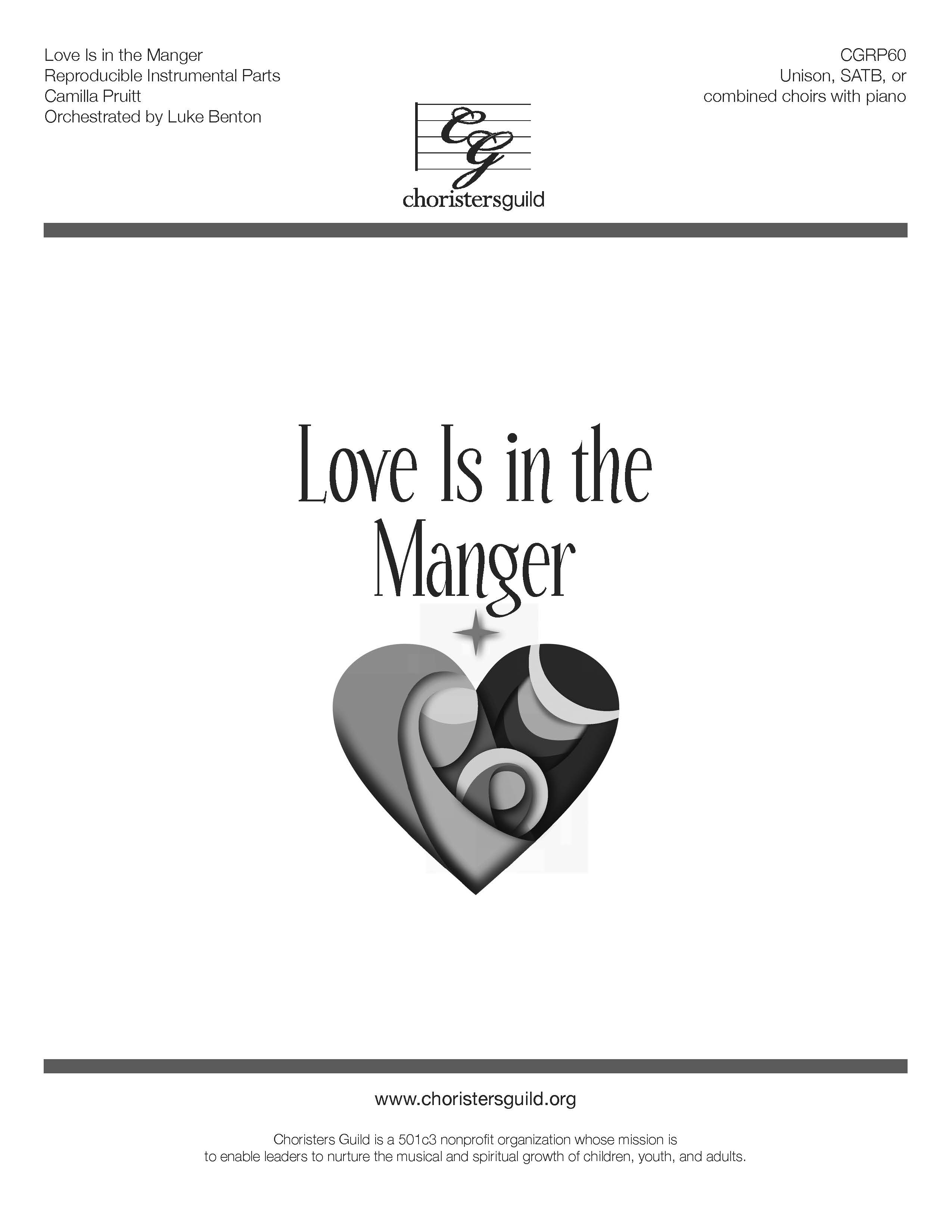 Love is in the Manger - Reproducible Instrumental Parts