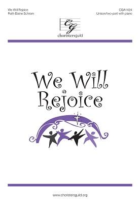 We Will Rejoice (Digital Download Accompaniment Track)