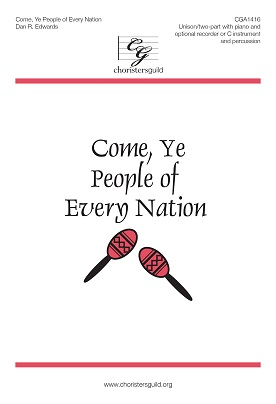 Come, Ye People of Every Nation (Digital Download Accompaniment Track)