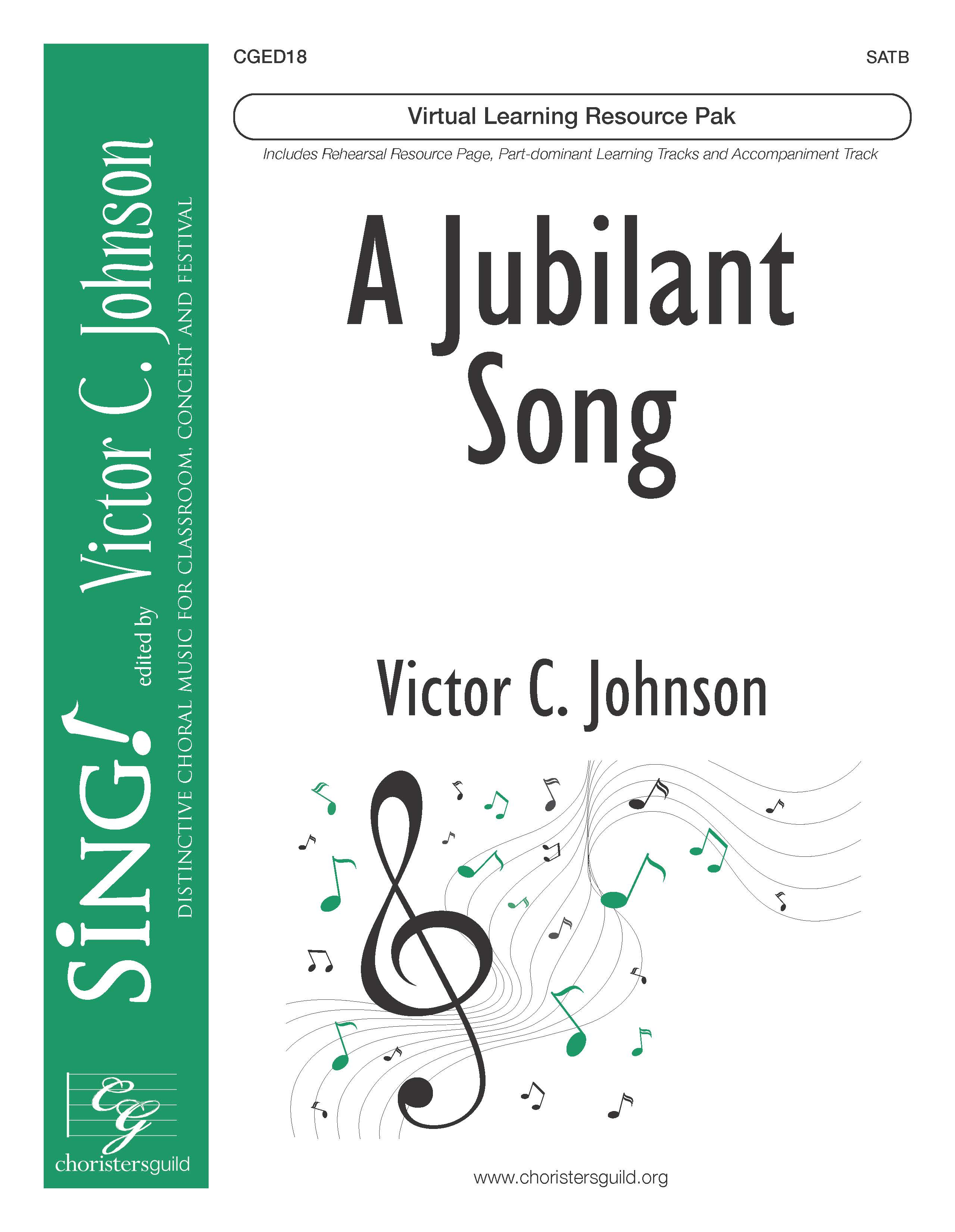 A Jubilant Song (Virtual Learning Resource Pak) - SATB