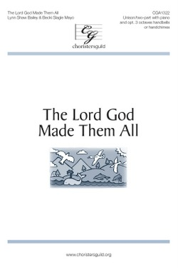 The Lord God Made Them All (Digital Download Accompaniment Track)