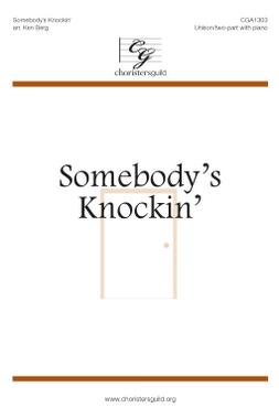 Somebody's Knockin' (Digital Download Accompaniment Track)