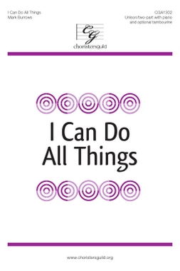 I Can Do All Things (Digital Download Accompaniment Track)