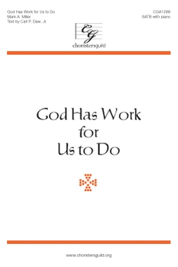 God Has Work for Us to Do (Digital Download Accompaniment Track)