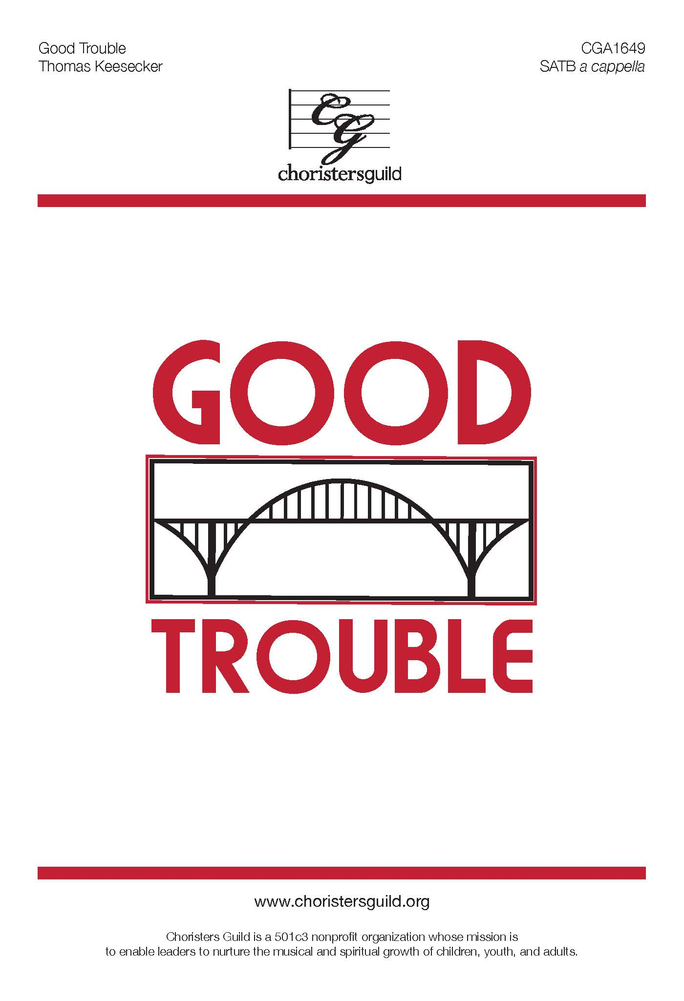 Good Trouble - SATB A Cappella