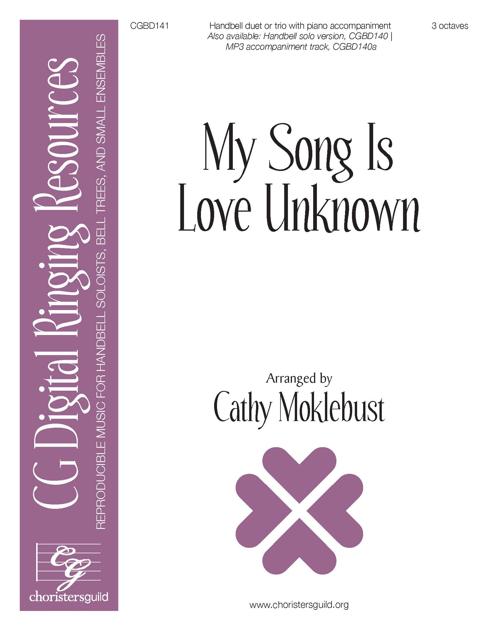 My Song is Love Unknown - Duet or Trio (3 octaves)