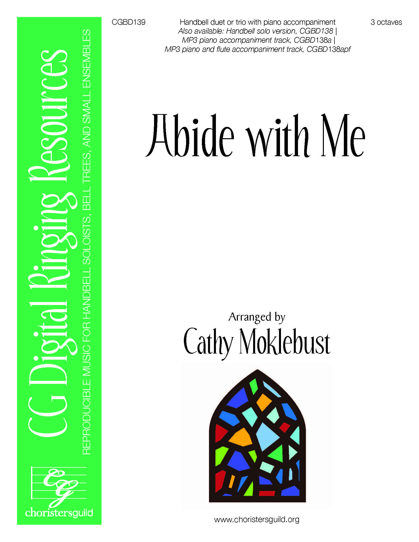 Abide with Me - Duet or Trio (3 octaves)