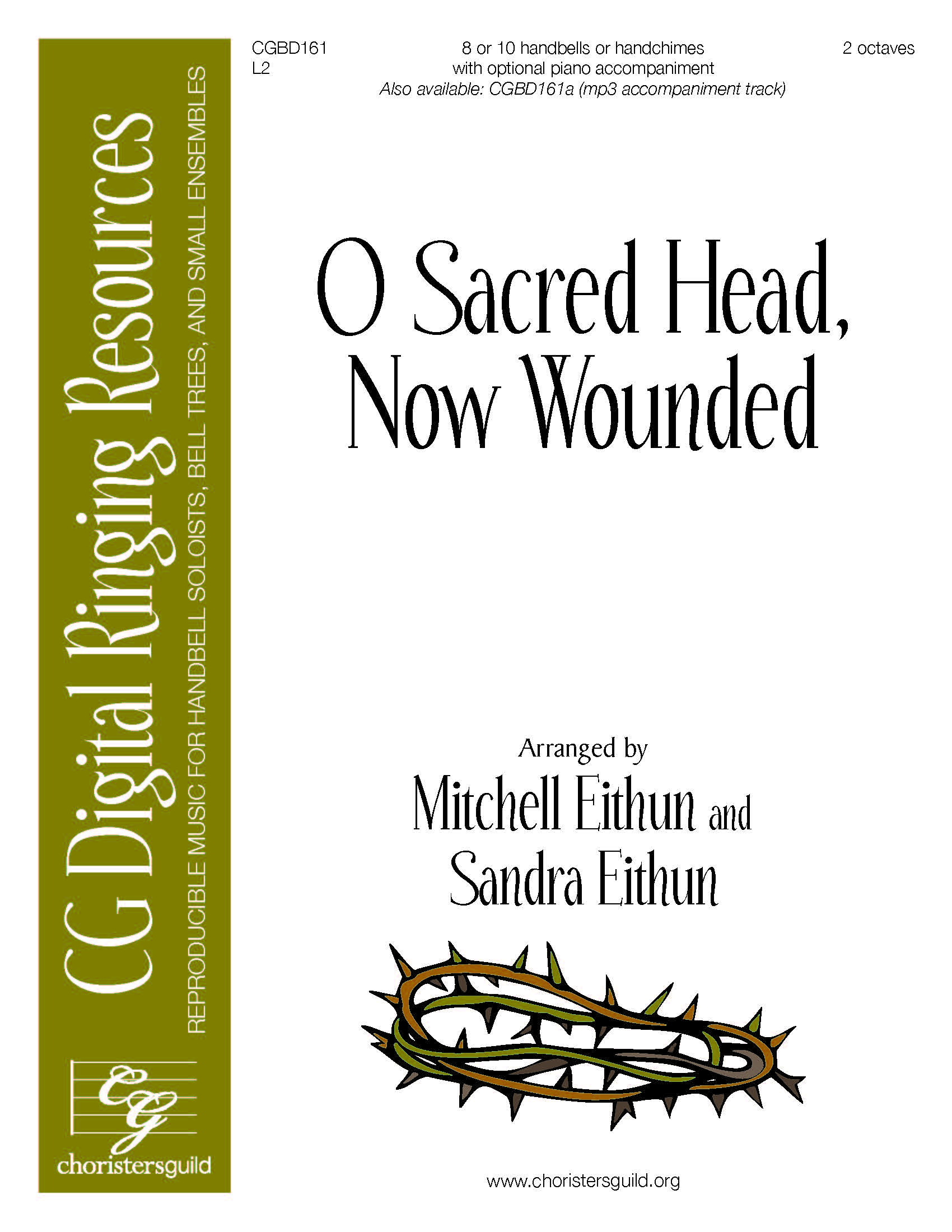 O Sacred Head, Now Wounded - Solo (2 octaves)