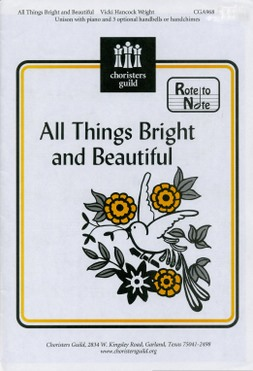 All Things Bright and Beautiful (arr. Wright)