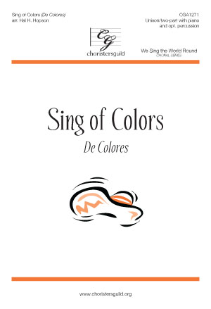 Sing of Colors (Digital Download Accompaniment Track)