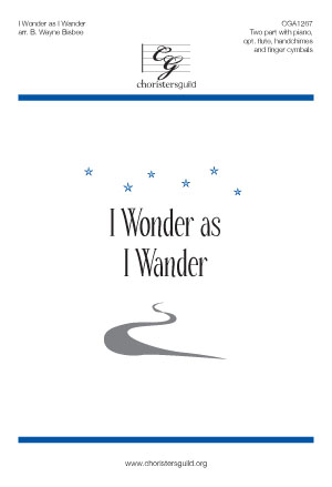 I Wonder as I Wander (Digital Download Accompaniment Track)