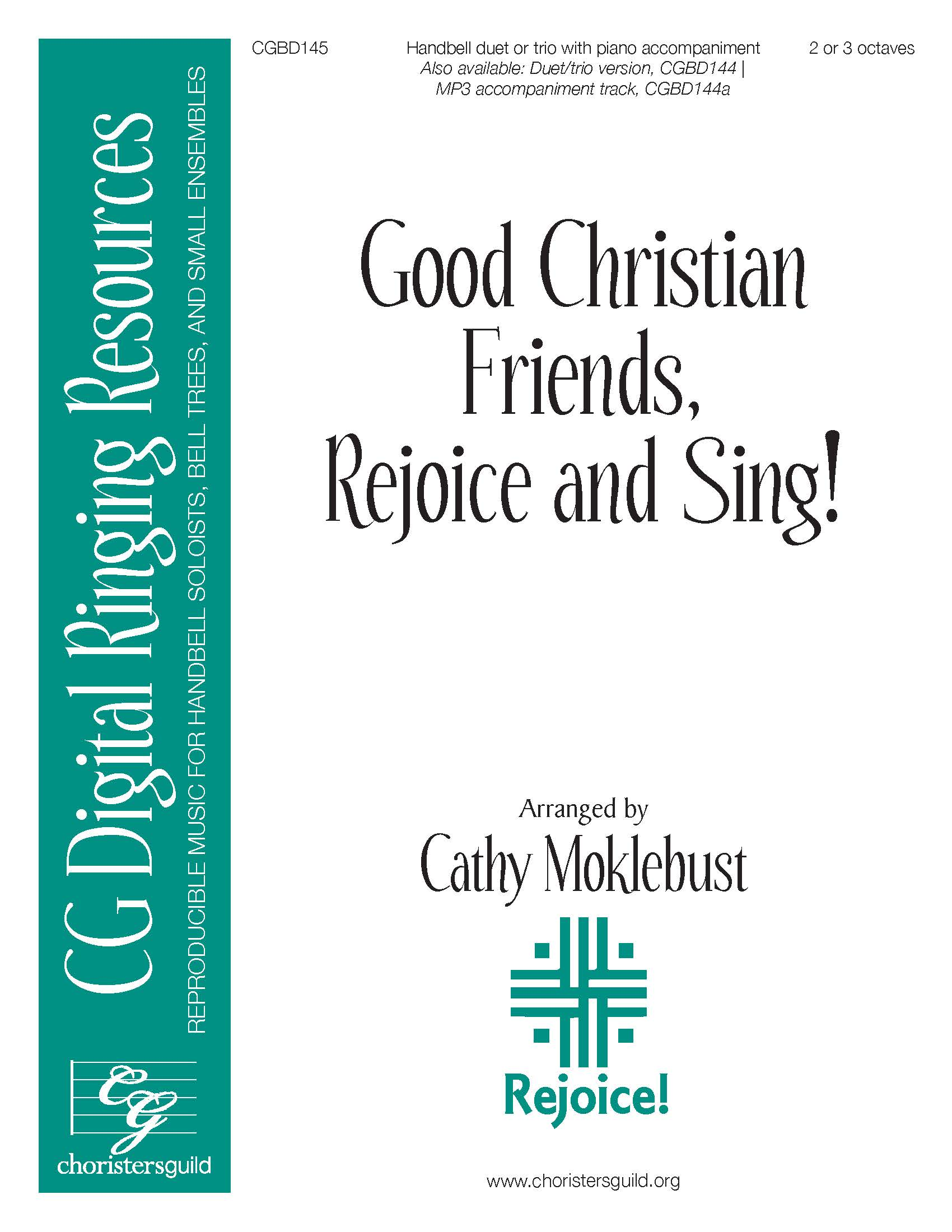 Good Christian Friends, Rejoice and Sing! - Duet or Trio (2-3 octaves)