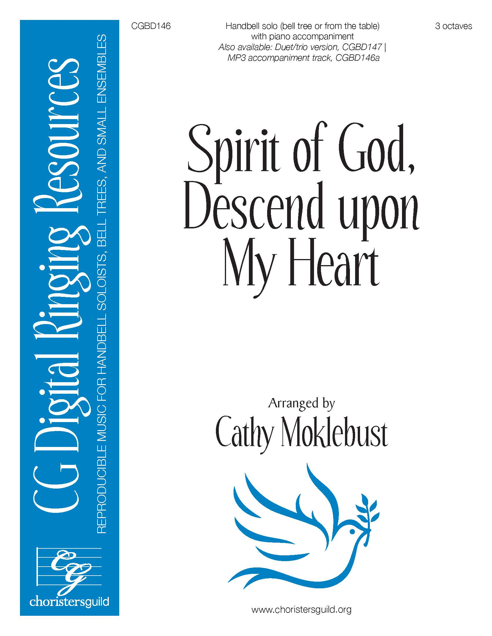 Spirit of God, Descend upon My Heart - Solo (3 octaves)