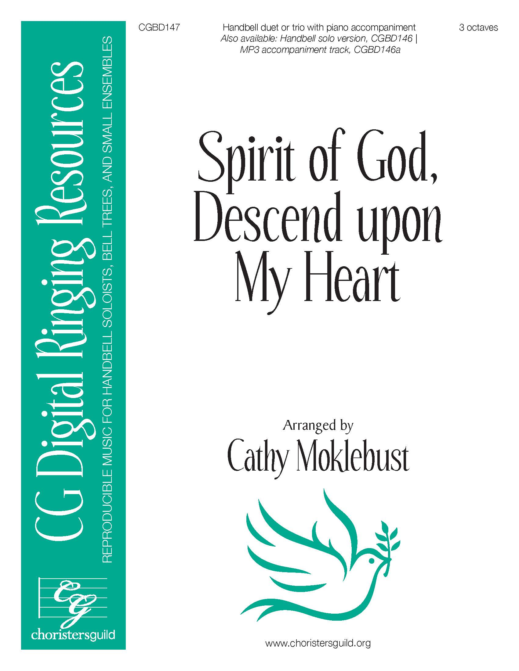 Spirit of God, Descend upon My Heart - Duet/Trio (3 octaves)