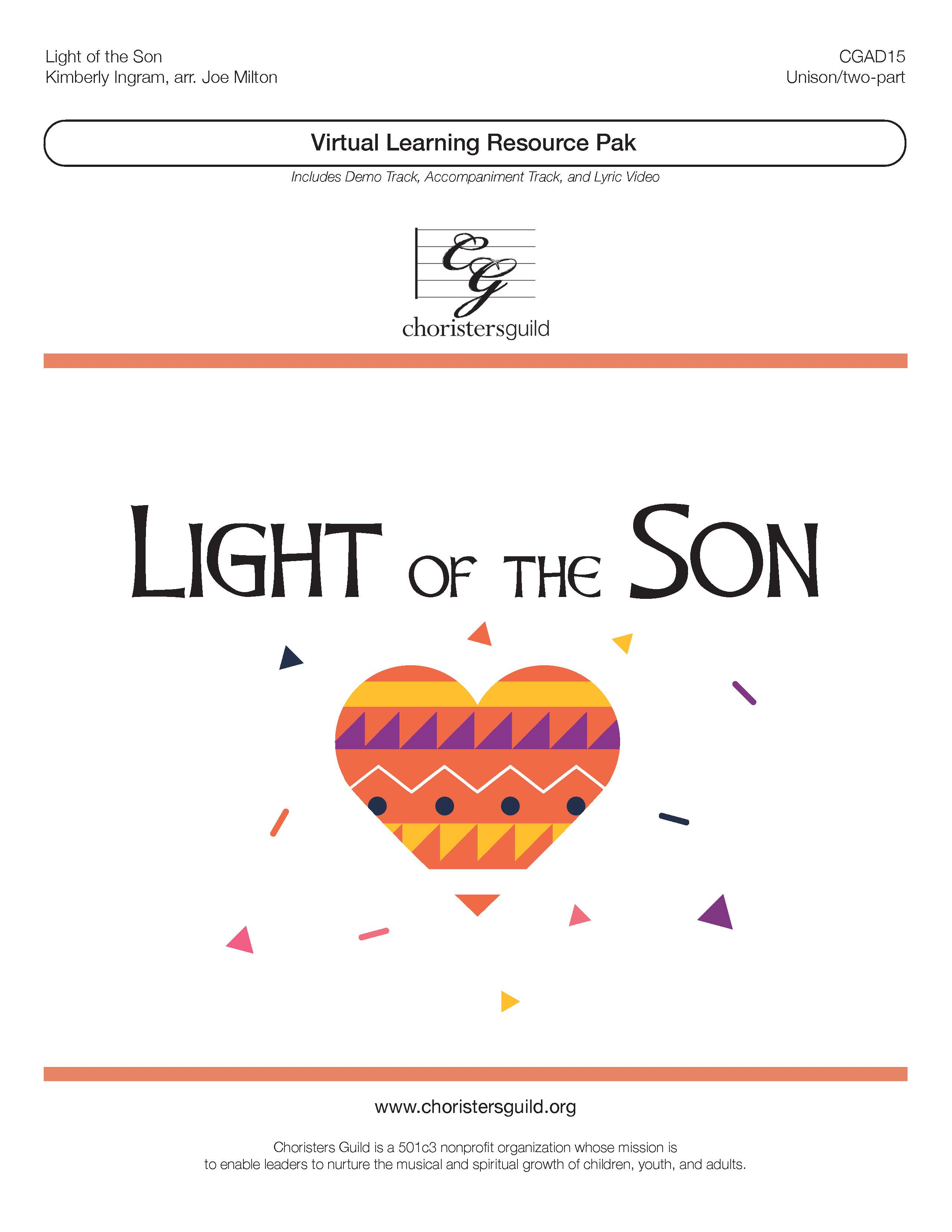 Light of the Son (Virtual Learning Resource Pak) - Unison/Two-part
