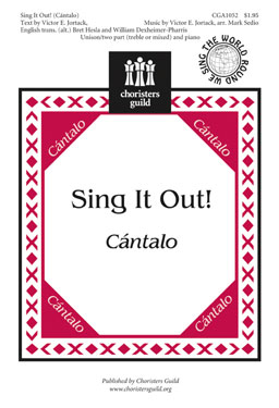 Sing It Out Cantalo