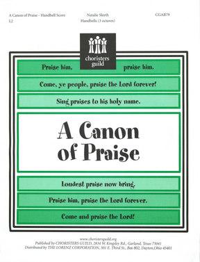 A Canon of Praise Handbell Score