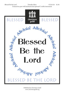Blessed Be the Lord Accompaniment Track