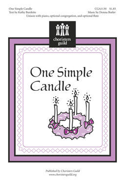 One Simple Candle (Accompaniment Track)
